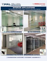 all glass door systems complete suitable for extensive interior s