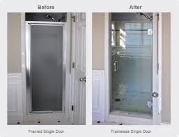 frameless single shower doors. Exellent Frameless Single Shower Door Replacement For Walkin Shower With Frameless Doors O