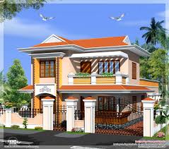 new model small house home mansion kerala plans low cost villa square feet design estimate mode sq ft with elevation free