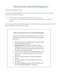 Annotated Bibliography Template Best Of Free Apa Research Paper