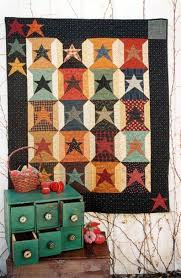 55 best Country Threads images on Pinterest | Loom, Block quilt ... & Country Threads :: Stars Quilt Patterns :: 20th Anniversary Spools / /  rustic, Adamdwight.com