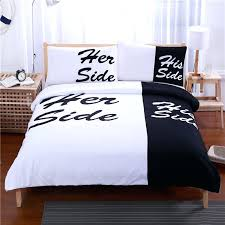 his and hers comforter bed sheets bedding set