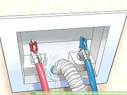 washer drain hose install washing machine drain clogged image titled fix a washer that will not