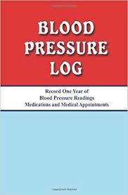 omron blood pressure diary blood pressure log michael v greenberg brooke c greenberg