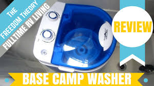 Travel Washing Machine Base Camp Portable Washing Machine And Spinner Review The