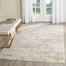 safavieh artifact grey cream 4 ft x 6 ft area rug atf237c 4 the home depot