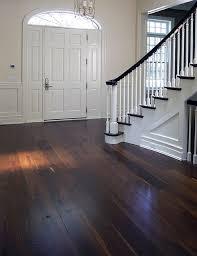 Fine Dark Oak Hardwood Floors Contemporaryentry A On Design Ideas