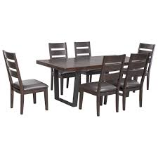 black dining room set round. tall kitchen table sets | mathis brothers furniture ontario ashley dining black room set round n