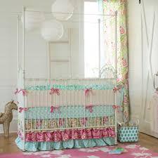 best baby crib bedding ari garden girl nursery carousel designs