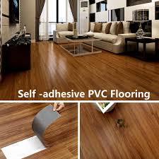 vinyl flooring tiles avoid glue pvc self adhesive floor home decor household thickening waterproof engineered flooring diy wood on aliexpress com alibaba