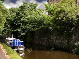 Leeds Liverpool Canal At Skipton North Yorkshire Stock Photo, Picture And  Royalty Free Image. Image 14867428.