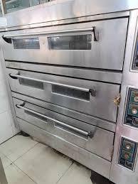 Thanh Lý Lò nướng bánh dùng điện 3 tầng 6 khay gas