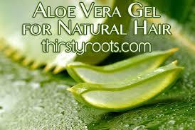 aloe vera gel for natural hair