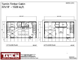 premium douglas fir post beam package tamlin timber cabin special floor plans