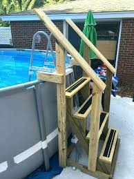 homemade above ground pool slide. Above Ground Pool Slide Homemade Plans Exterior Illuminated Ladder Clamps From