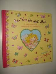 Prinzessin Lillifee Ein Vers Für Dich Allein Schöne Sprüche