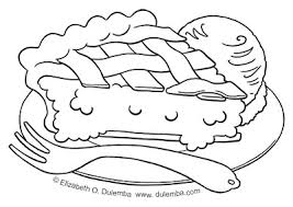 Small Picture dulemba Coloring Page Tuesday 8th Anniversary Pie