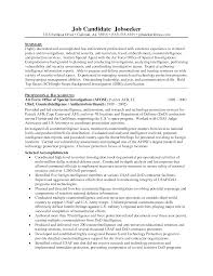 Fbi Resume Template Fbi Special Agent Resume Template Krida 17