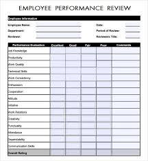 Employee Review Sample Gorgeous Employee Evaluation Samples Metalrus