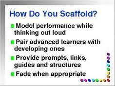 Scaffolding Definition Vygotsky 10 Best Vygotsky With Scaffolding Images Scaffolding