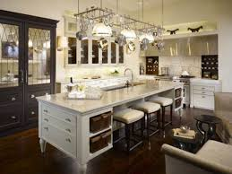 Luxurious Large Kitchen Island with Seating and Storage