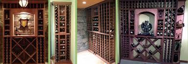 diy wine cellar rack designs