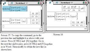 more on gdc solving quadratics system