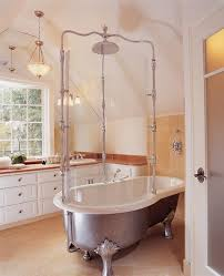 clawfoot tub and shower combo. choosing your bed-and-bath style clawfoot tub and shower combo m