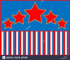 Star Framework Blue Patriotic Frame Star White Red Framework Border Blue