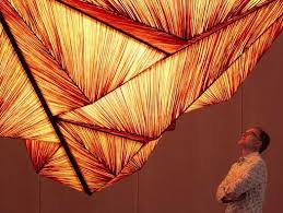 pyramid lighting sculpture. mocovote: pyramid lighting sculpture by aqua creations t