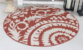 target round accent rugs