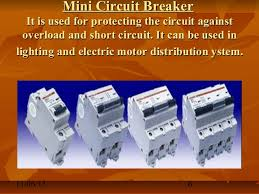 electrical devices mcb elcb mccb etc mini circuit breaker