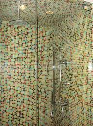you could just always do the whole shower in mosaic what do you think too much if you do have a mosaic shower make sure and keep the rest of the room