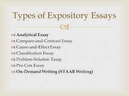 expository writing ppt video online  types of expository essays