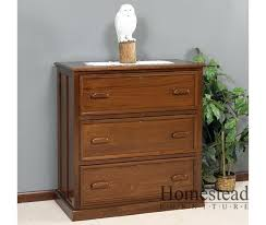 wood file cabinet with lock. 3 Drawer Wood Filing Cabinet File With Lock .
