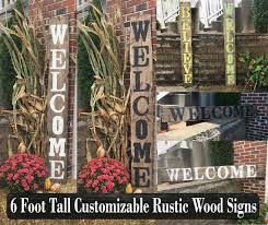 Decorative Yard Signs Yard Signs Decorative Signs Wood Name Signs Vertical Signs 21