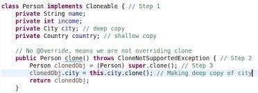 Java Cloning Copy Constructors Vs Cloning Dzone Java