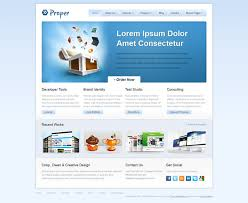 Css Website Templates Simple Proper Free CSS Web Template Templates Perfect