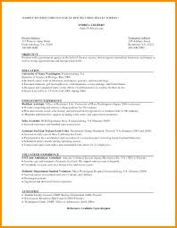 Chronological Order Resume Chronological Resume Template Free Unique