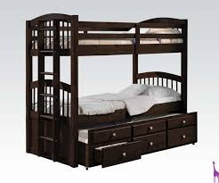 furniture dillon black full over bunk with under trundle images amusing desk and drawers best home