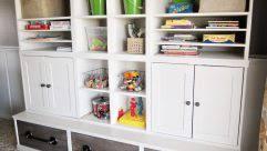 Superb Kids Storage: Childrens Storage Unit With Plastic Boxes Toy Boxes Toddler Storage  Toy Storage Drawers