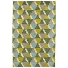 art tiles lime green