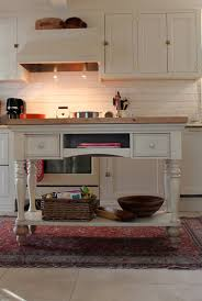 This sofa table from HomeGoods was repurposed into a kitchen ...