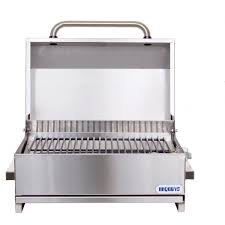 Stainless Steel Table Top Bbqguyscom Stainless Steel Tabletop Electric Grill Bbq Guys