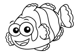 Small Picture Cute Preschool Coloring Pages Fish Animal Coloring pages of