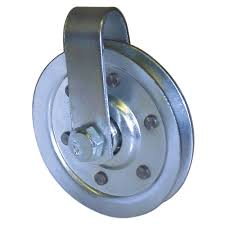 3 in pulley with fork and bolt