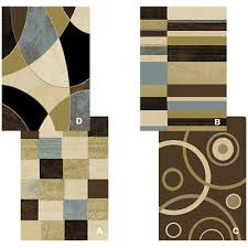 contemporary geometric multicolor 8x11 area rug modern carpet actual 7 8 x10