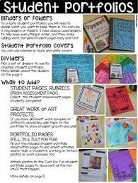 Student Portfolios Assessments And Student Portfolios Bundle For Preschool Pre K Kinder