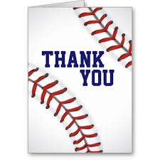 Baseball Thank You Note Card Cards Pinterest Note Cards Note