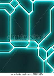 Sci Fi Light Wall Stock Illustration 272074964 Shutterstock